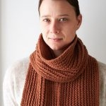 Rick Rack Scarf in Worsted Twist