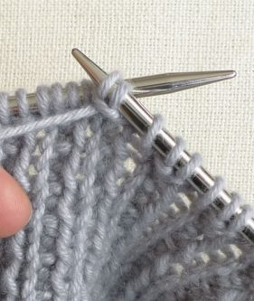 Removing Extra Stitches Knitting : Rick Rack Rib Purl Soho
