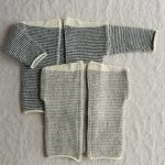Tiny Stripes Cardigan + Vest