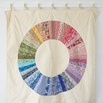 Color-Wheel Quilt In Liberty Of London