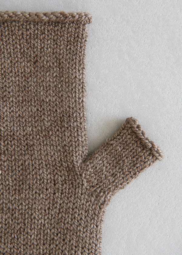 Stockinette Hand Warmers | Purl Soho