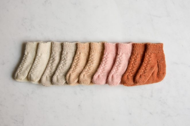 Knit Layette Socks | Purl Soho