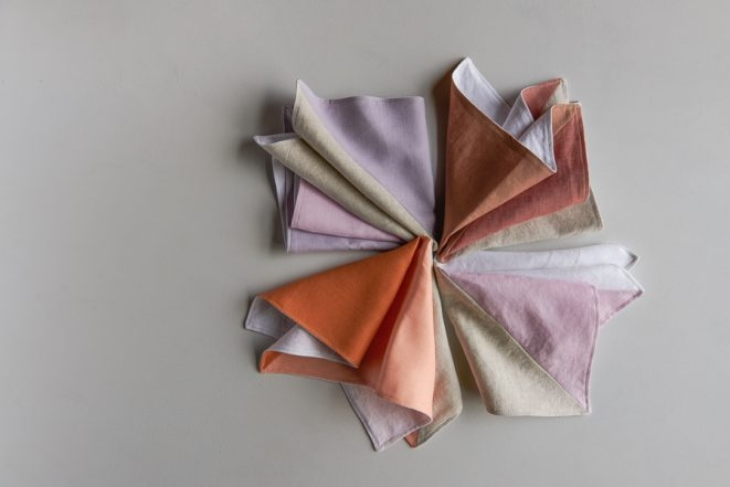 Pieced Napkins in Daily Linen | Purl Soho