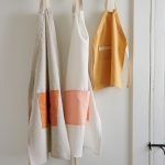 Adjustable Aprons in Daily Linen