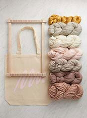 Frame Loom + Yarn Bundle