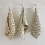 Slip Stitch Dishtowels in Cotton Pure