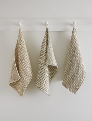 Slip Stitch Dishtowels in Cotton Pure | Purl Soho