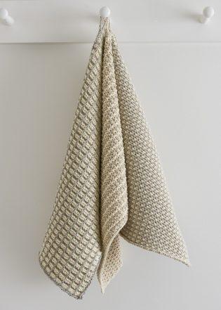 Slip Stitch Dishtowels In Cotton Pure Purl Soho