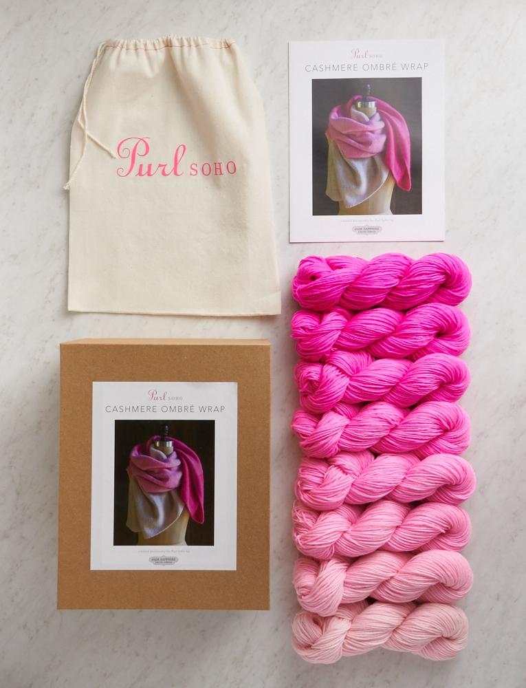 Cashmere Ombré Blanket | Purl Soho