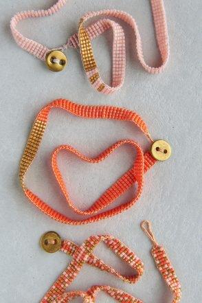 Woven Beaded Bracelets | Purl Soho