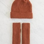 Simple Hand Warmers + Hat in New Colors