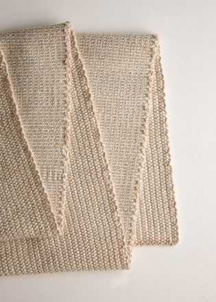 Reversible Stripes Scarf in New Yarns | Purl Soho
