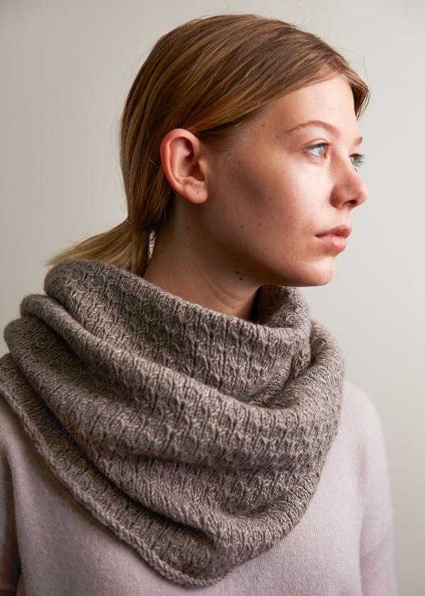 Thorn Stitch Cowl Free Knitting Pattern By Purl Soho