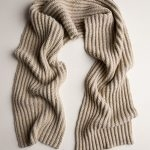 Two-Tone Mistake Rib Scarf