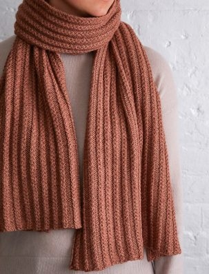 Braided Rib Wrap | Purl Soho