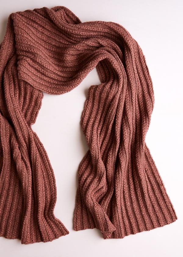 Braided Rib Wrap Free Knitting Pattern By Purl Soho