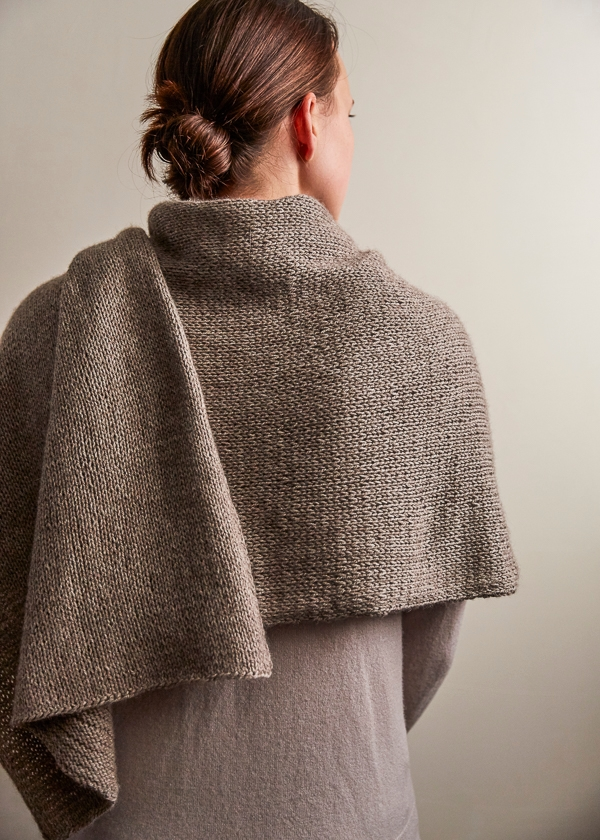Elementary Wrap Free Knitting Pattern By Purl Soho