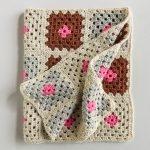 Granny Square Blanket in New Colors