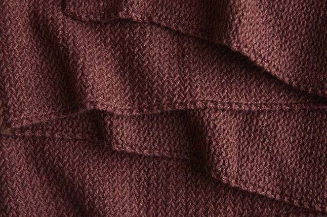 Mini Herringbone Scarf in Understory | Purl Soho
