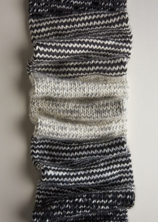 Stripey Tube Scarf | Knitting Pattern by Purl Soho