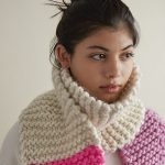 Color Tipped Scarf in Gentle Giant