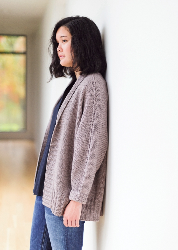 Olson Cardigan Knitting Pattern By Julie Hoover