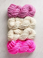 Color Tipped Scarf in Gentle Giant Bundle