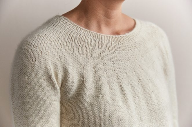 Top-Down Circular Yoke Pullover | Purl Soho