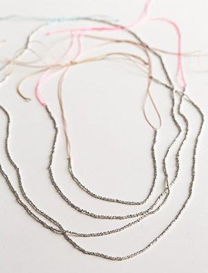 Adjustable Sterling Silver Necklaces | Purl Soho