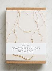 Gemstones + Knots Necklaces Kit
