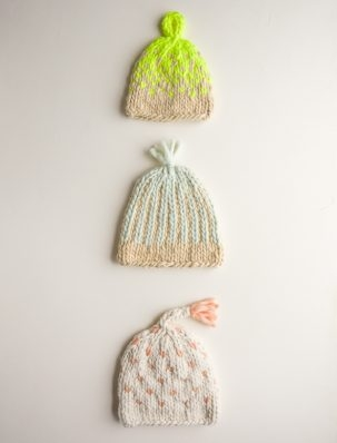 Trio of Colorwork Hats | Purl Soho