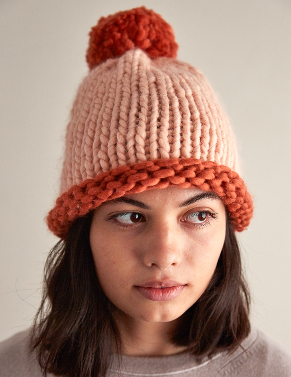 Two-Color Homestretch Hat | Purl Soho