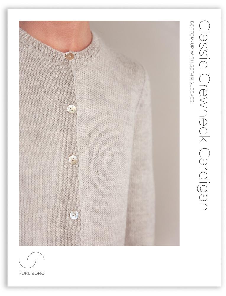 Classic Crewneck Cardigan | Purl Soho