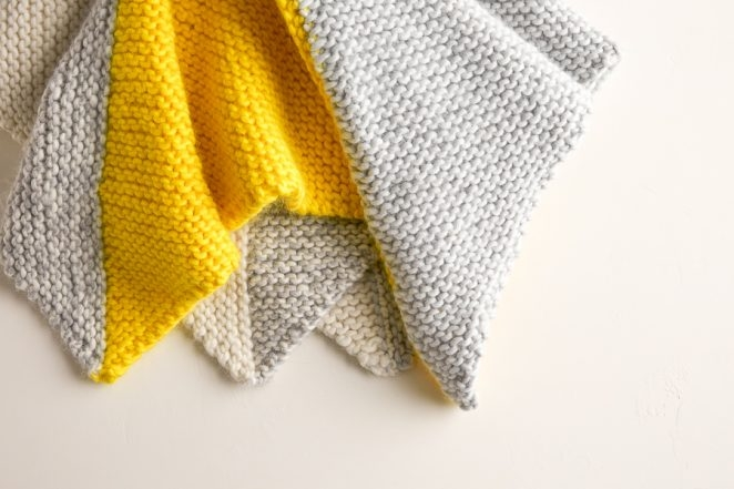 Four Points Baby Blanket in Super Soft Merino | Purl Soho