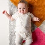 Four Points Baby Blanket in Super Soft Merino