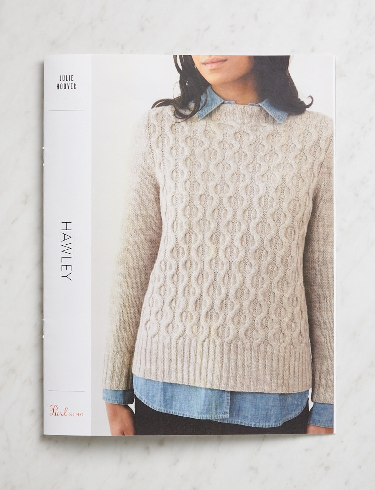 Julie Hoover for Purl Soho: Hawley | Purl Soho