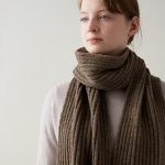 Lovely Ribbed Scarf
