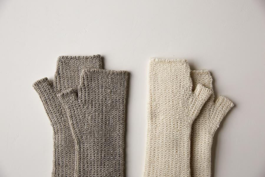 Slip Stitch Hand Warmers | Purl Soho