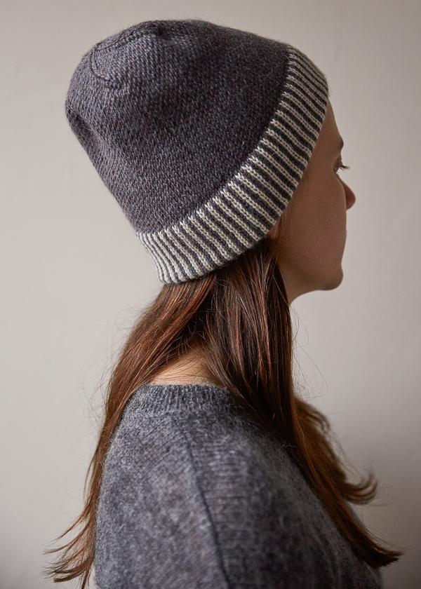 eddf83d7396 Striped Cuff Hat