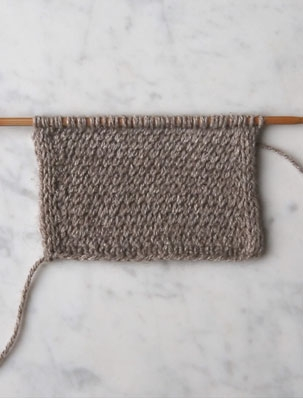 Diagonal Slip Stitch | Purl Soho