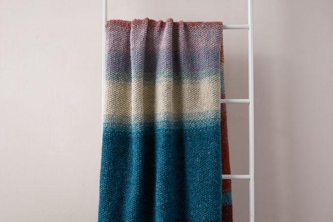 Nature's Palette Blanket | Purl Soho