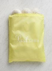 Purl Soho Zip Bag from Baggu, Citron
