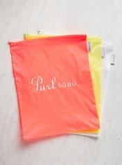 Purl Soho Zip Bags from Baggu, Three-Pack