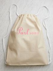 Purl Soho Drawstring Backpack