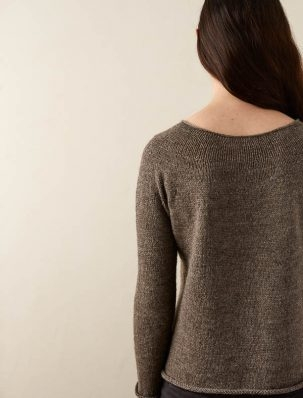 Top-Down Circular Yoke Pullover In Good Wool | Purl Soho