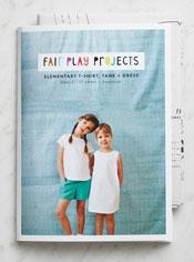 Elementary T-Shirt, Tank + Dress Pattern