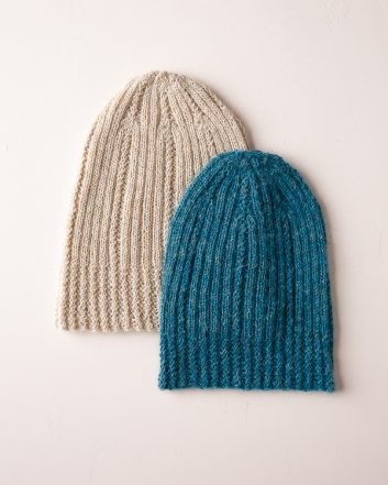 Mock Cable Columns Hat | Purl Soho