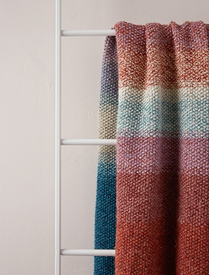 Nature's Palette Blanket | Purl Soho