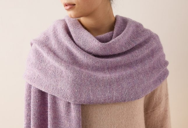 Elementary Wrap In Linen Quill | Purl Soho