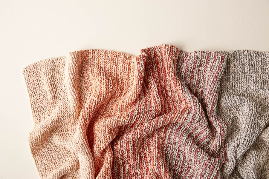 Gradient Stripe Blanket | Purl Soho